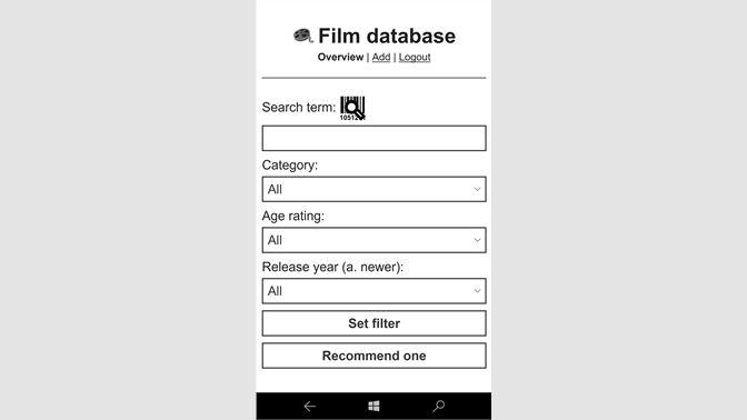 Get Film database - Microsoft Store