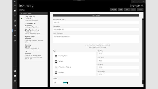 Get Invoice Microsoft Store - Invoice app for windows 10