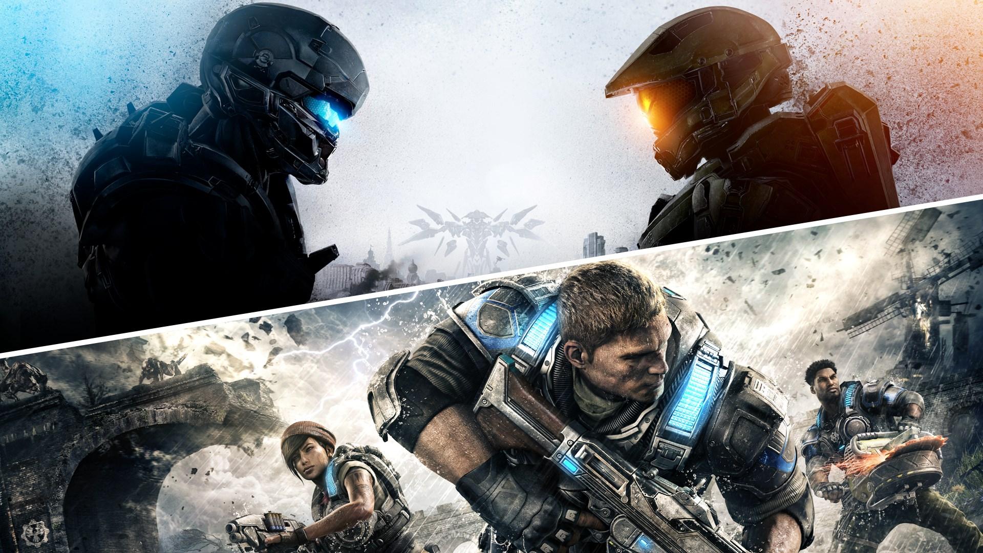 Lot GearsofWar4 et Halo 5:Guardians