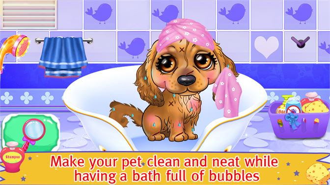 Get My Puppy Salon - Pet DayCare, Color by Number - Microsoft Store