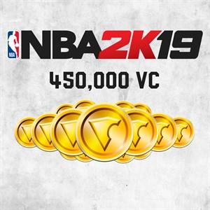 NBA 2K19 450,000 VC Xbox One