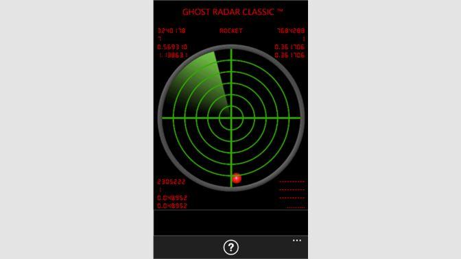 Get Ghost Radar Classic - Microsoft Store