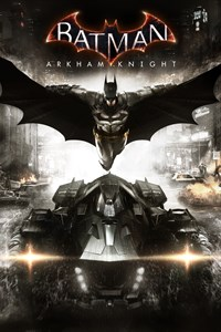 Carátula para el juego Batman: Arkham Knight de Xbox 360