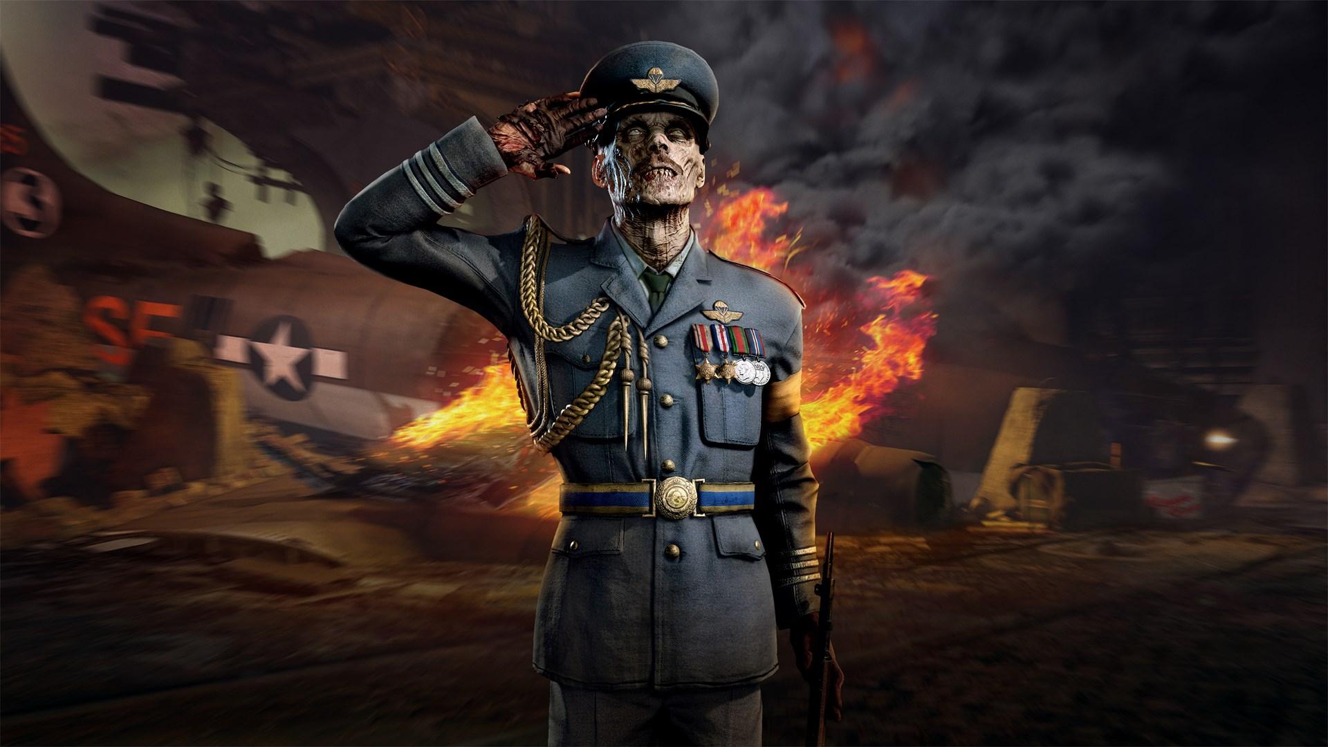 Zombie Army 4: Zombie Gentleman Dress Uniform Character