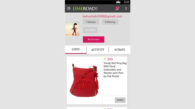 8948f1d0900 Get Limeroad Shopping - Microsoft Store