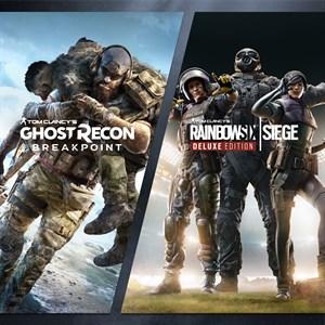 Tom Clancy's Rainbow Six Siege and Tom Clancy's Ghost Recon Breakpoint Bundle Xbox One