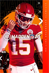 Carátula del juego Madden NFL 20 Ultimate Superstar Edition para Xbox One