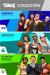 Los Sims™ 4 Colección: Urbanitas, Vampiros y Glamour Vintage