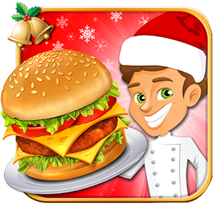 Santa Restaurant Cooking Game