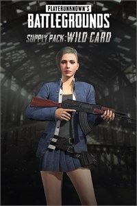 PUBG - SUPPLY PACK: WILD CARD