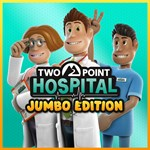 Two Point Hospital: JUMBO Edition Logo