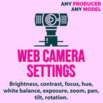 Web Camera Settings Logo