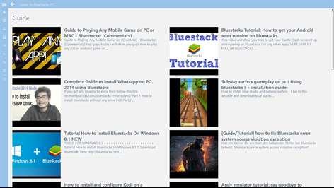 BlueStacks UserGuide Screenshots 2