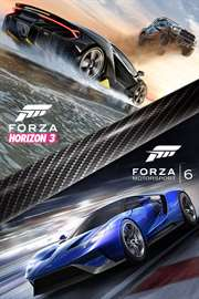 Carátula del juego Forza Horizon 3 and Forza Motorsport 6 Bundle de Xbox One