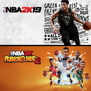 NBA 2K19 + NBA 2K Playgrounds 2 Paketi Xbox One