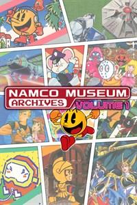 Carátula para el juego NAMCO MUSEUM ARCHIVES Vol 1 de Xbox 360