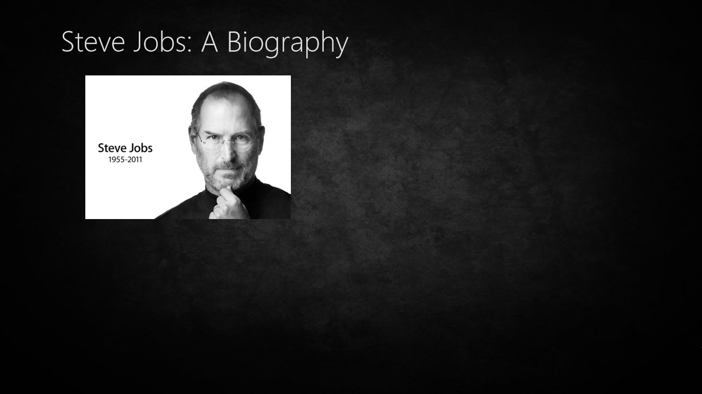 chronological biography of steve jobs Jobs wins a chrysler design institute award for the imac design 1998 -- apple returns to profitability and records four profitable quarters in a row 2000 -- 'interim' dropped from jobs' title.
