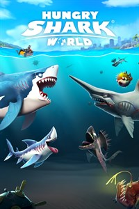 Carátula del juego Hungry Shark World