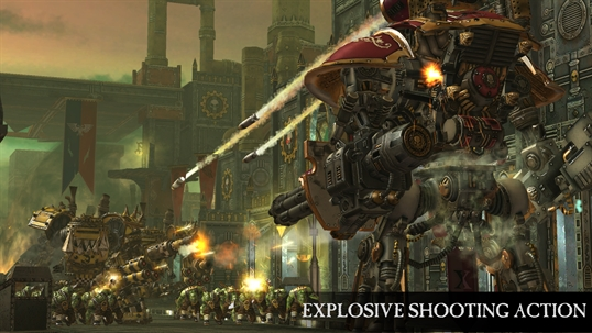 Warhammer 40,000: Freeblade screenshot 1