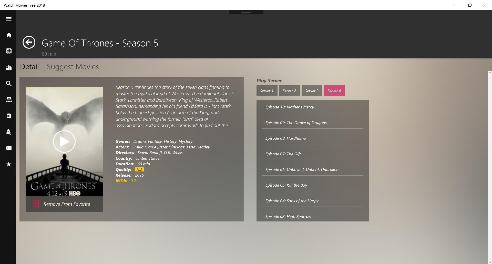 Free Movies - TV series