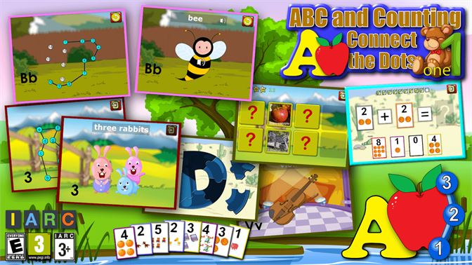 Get Kids ABC and Counting Join and Connect the Dot Alphabet
