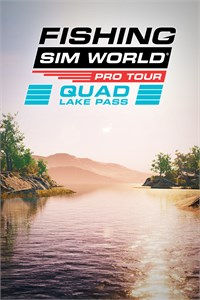 Carátula del juego Fishing Sim World: Pro Tour - Quad Lake Pass