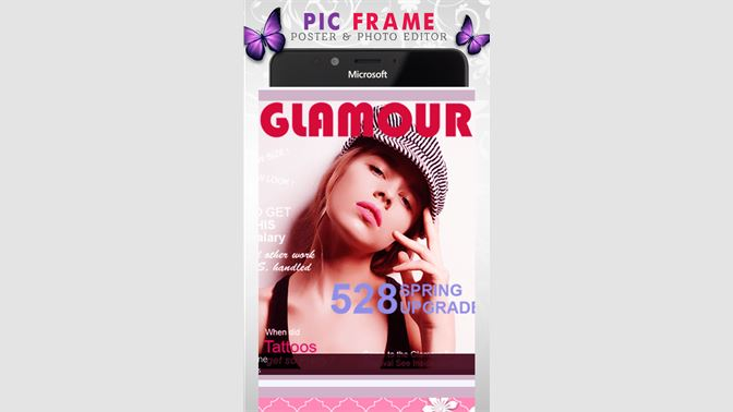 Get Pic Frame - poster & photo editor - Microsoft Store