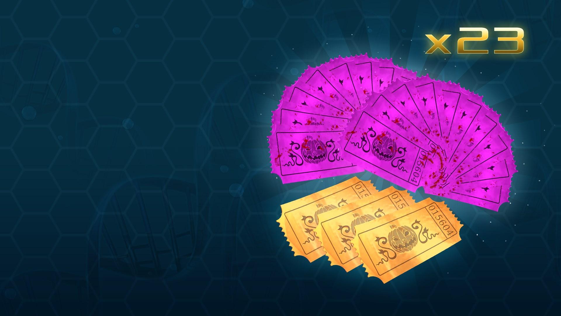Золотой набор премиум-билетов на Хеллоуин