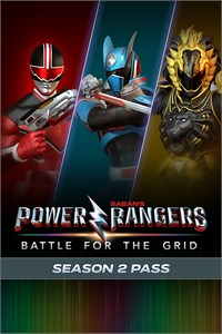 Carátula del juego Power Rangers: Battle for the Grid - Season Two Pass
