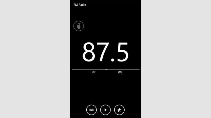 Get FM Radio - Microsoft Store