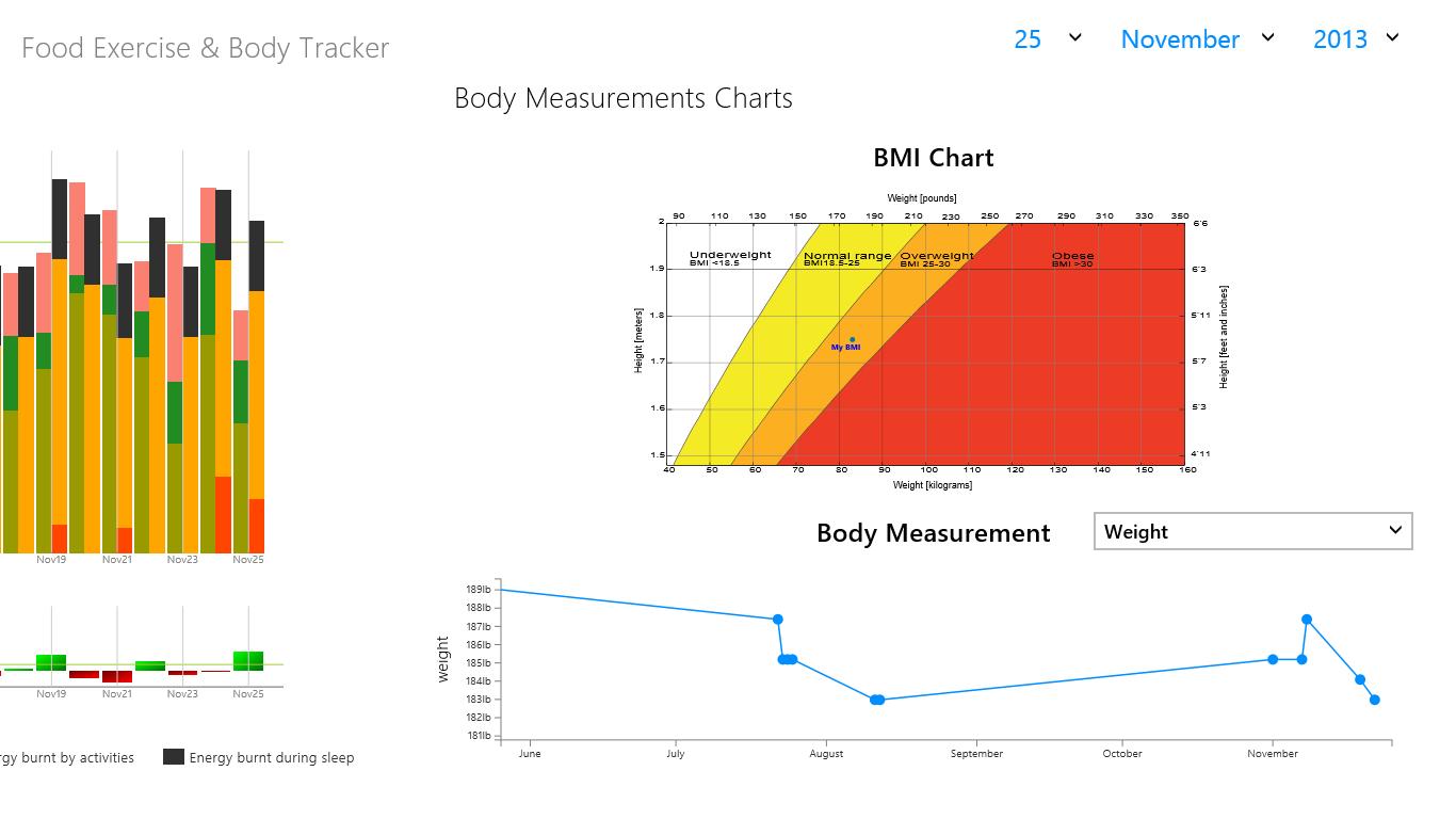 body measurements tracker