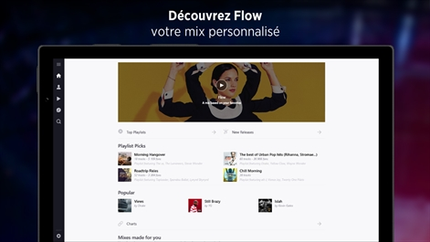 Deezer Music Capture d'écran