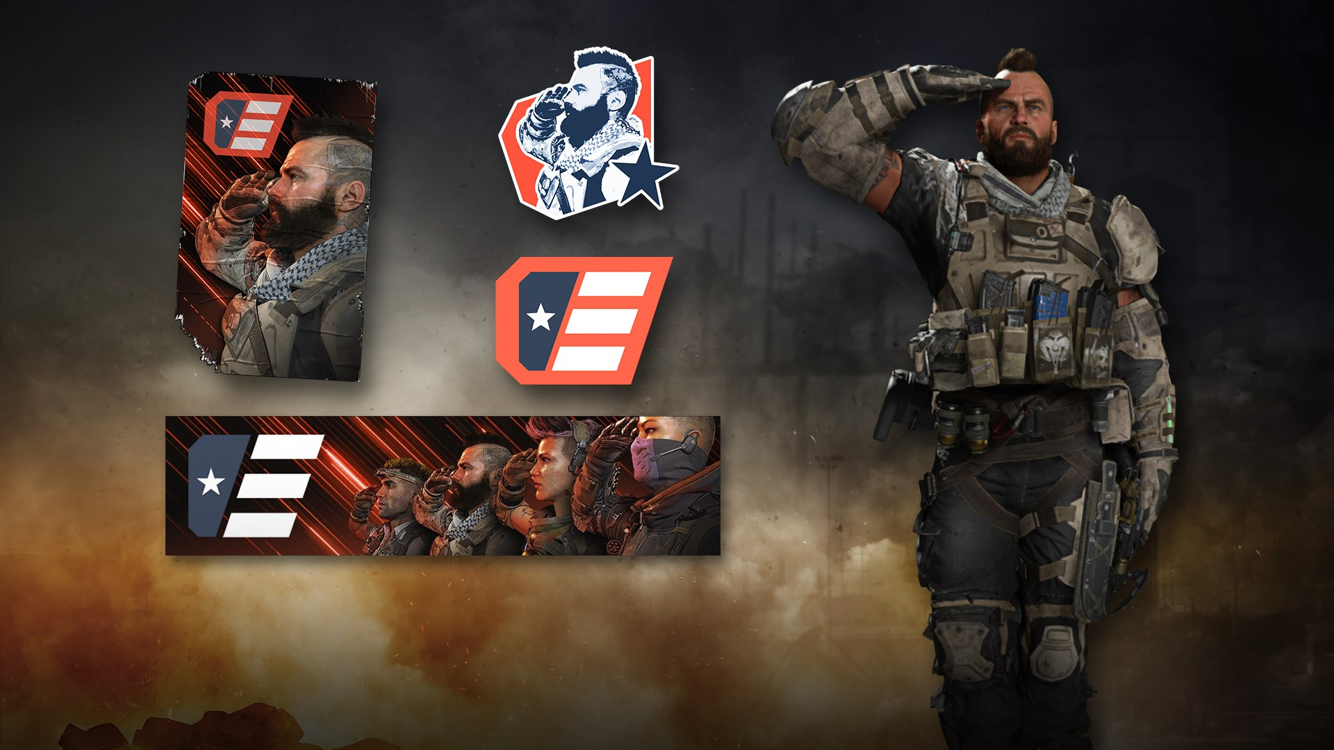 Call of Duty®: Black Ops 4 - C.O.D.E. Salute Pack