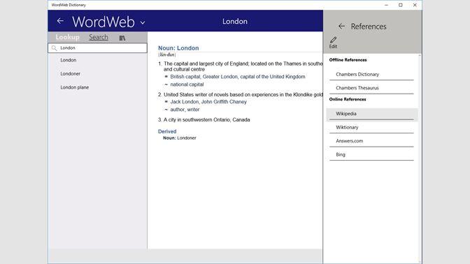 Get WordWeb Dictionary - Microsoft Store
