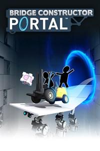Carátula para el juego Bridge Constructor Portal de Xbox 360