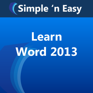how to learn microsoft word fast