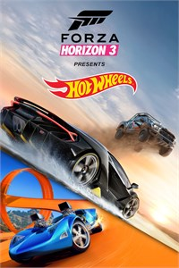 Carátula para el juego Forza Horizon 3 and Hot Wheels Expansion Bundle de Xbox 360
