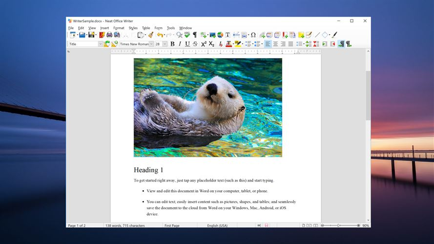 Neat Office: Word, Excel, PDF & Powerpoint Alternative for Windows 10 PC