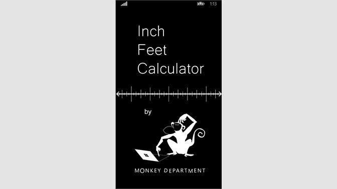 Get Inch Foot Calculator - Microsoft Store