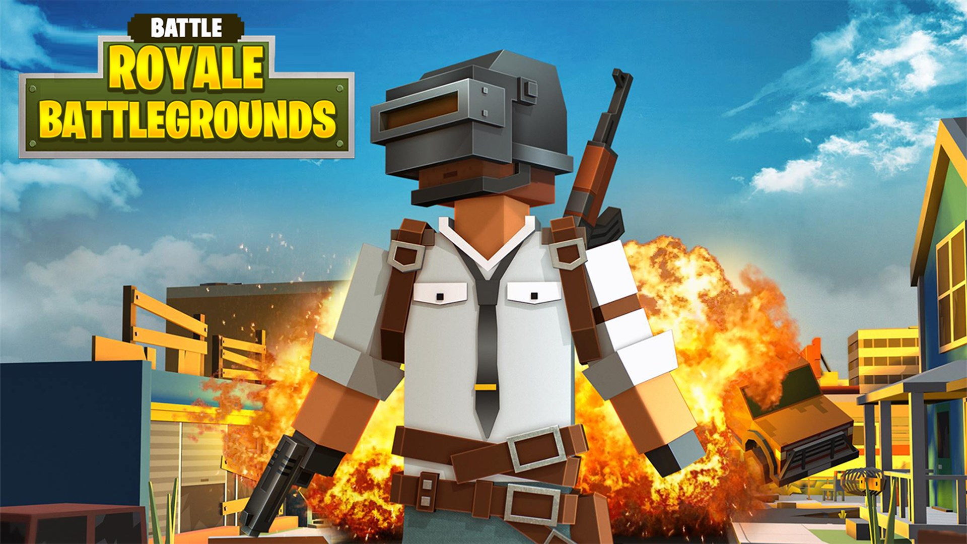 Get Battle Royale Battleground Craft 3D - Microsoft Store en-AU