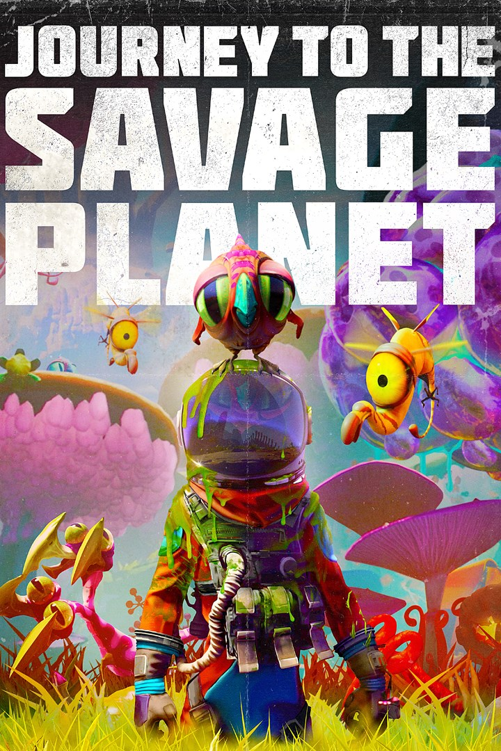 Journey to the Savage Planet PC Gameplay cover