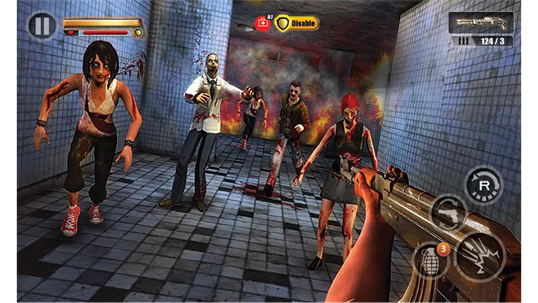 Infected House: Zombie Shooter screenshot 5