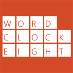 Word Clock 8