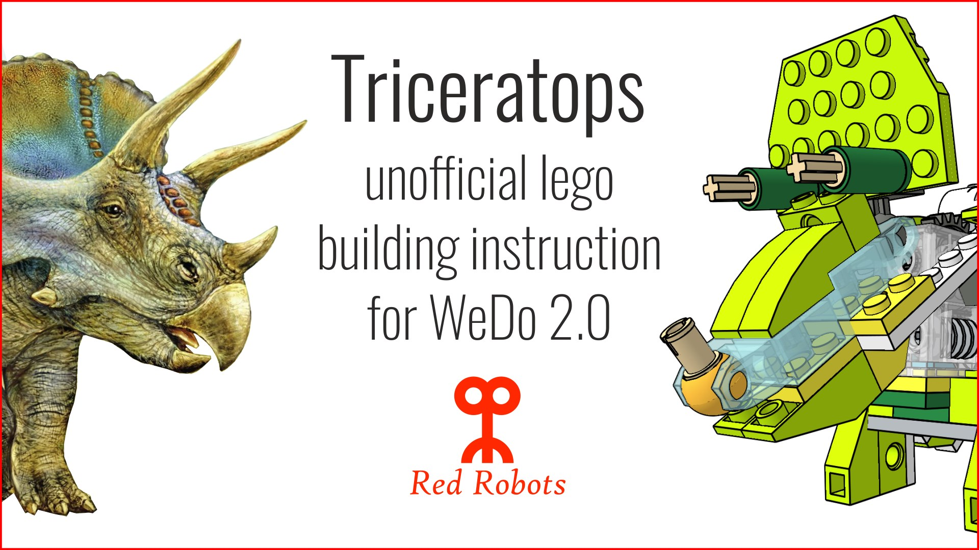 Buy Triceratops — LEGO® WeDo 2 0 unofficial Building Instruction -  Microsoft Store