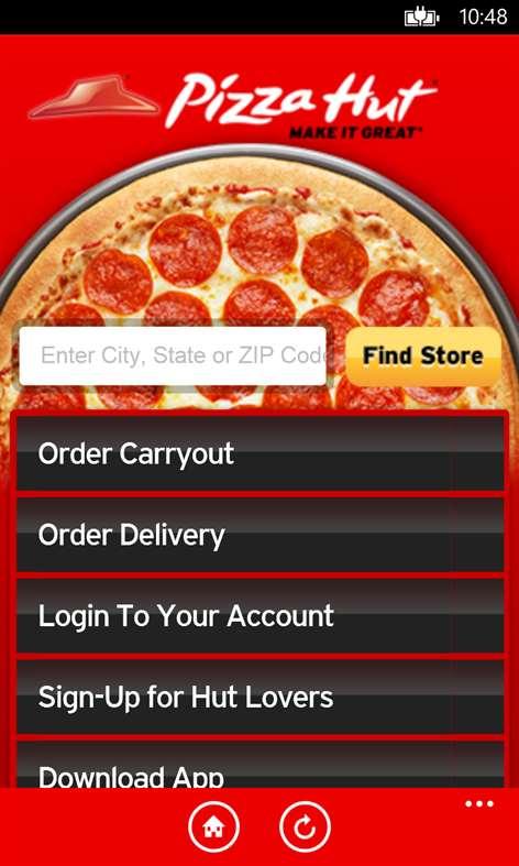 Pizza Hut Screenshots 1