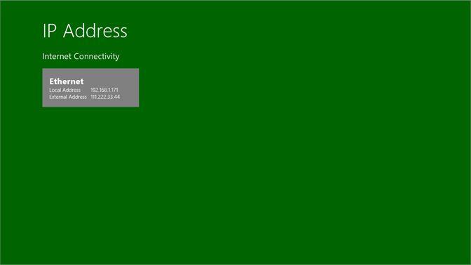 Get IP Address - Microsoft Store en-IN