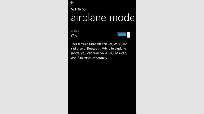 Get Airplane Mode - Microsoft Store
