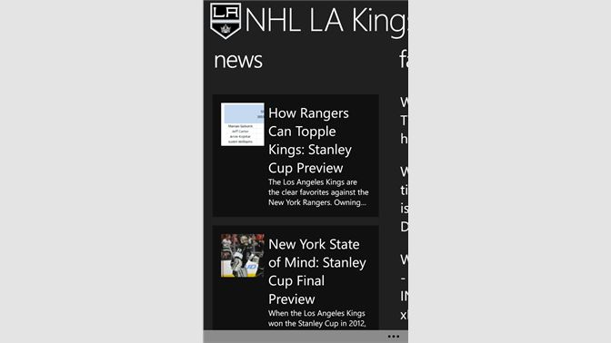 finest selection 033e7 c1256 Get NHL LA Kings - Microsoft Store