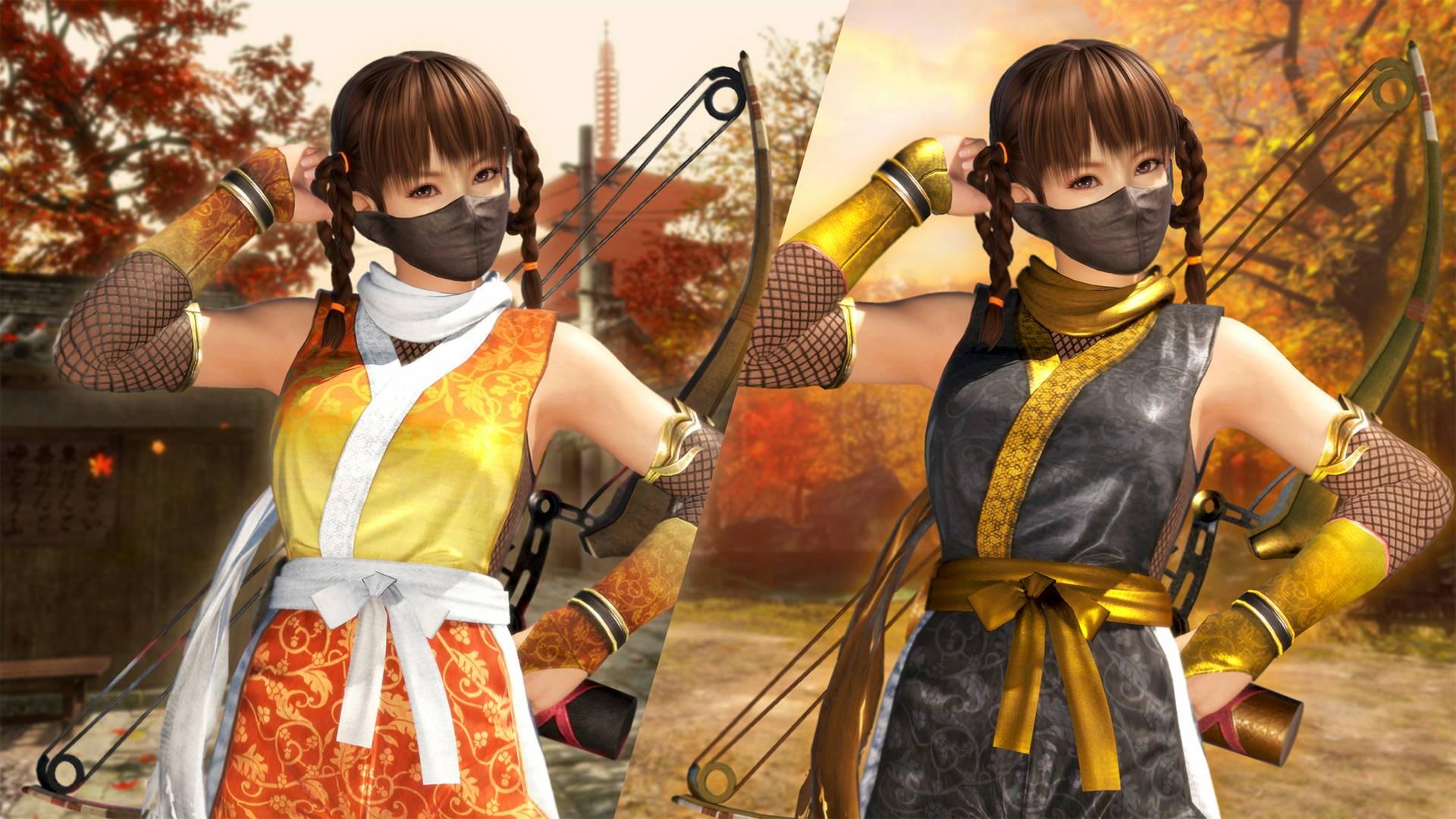 Tenue de Ninja métamorph DOA6 - Leifang