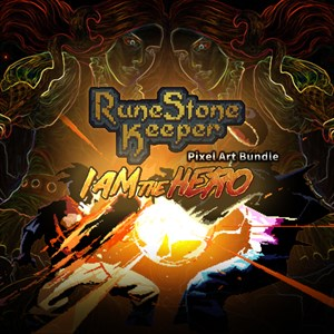 RuneStone Keeper and I am the hero PixelArt Bundle Xbox One